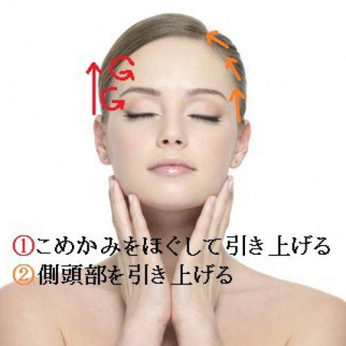 くすみ・くま・むくみを目元リンパマッサージで解決する方法1