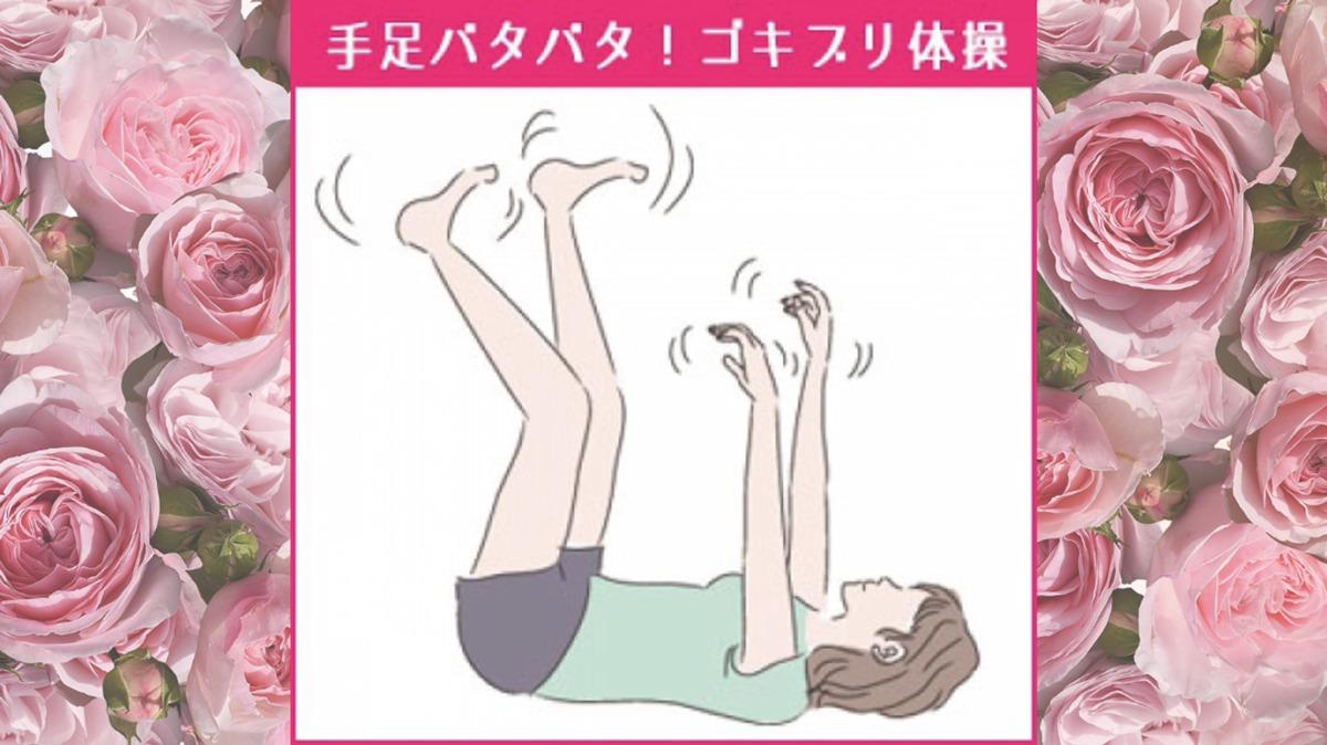 手足バタバタ!脚やせに効果的な「ゴキブリ体操」具多的な方法!