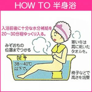 ダイエットに効果的な3つの入浴法