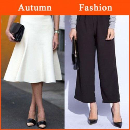 秋冬のトレンド服に、太い足首は×!